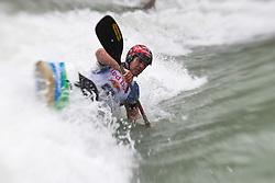 18.06.2010, Drauwalze, Lienz, AUT, ECA Kayak Freestyle European Championships, im Bild Feature Fresstyle Kajak, , EXPA Pictures © 2010, PhotoCredit: EXPA/ J. Feichter