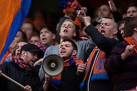 Bilder fra cupfinalen i fotball for menn mellom Brann og Aalesund på Ullevaal Stadion i Oslo søndag ettermiddag.