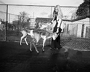 Former Miss World Visits Dublin Zoo.<br />