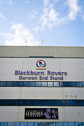 A general view of the Darwen End Stand at Ewood Park - Mandatory byline: Matt McNulty/JMP - 07966386802 - 28/08/2015 - FOOTBALL - Ewood Park -Blackburn,England - Blackburn Rovers v Bolton Wanderers - SkyBet Championship