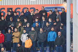 South stand. Falkirk 3 v 1 St Mirren, Scottish Championship game played 3/12/2016 at The Falkirk Stadium.