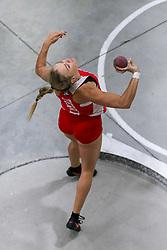 Shot, Boston U, Molloy<br /> Boston University Athletics<br /> Hemery Invitational Indoor Track & Field