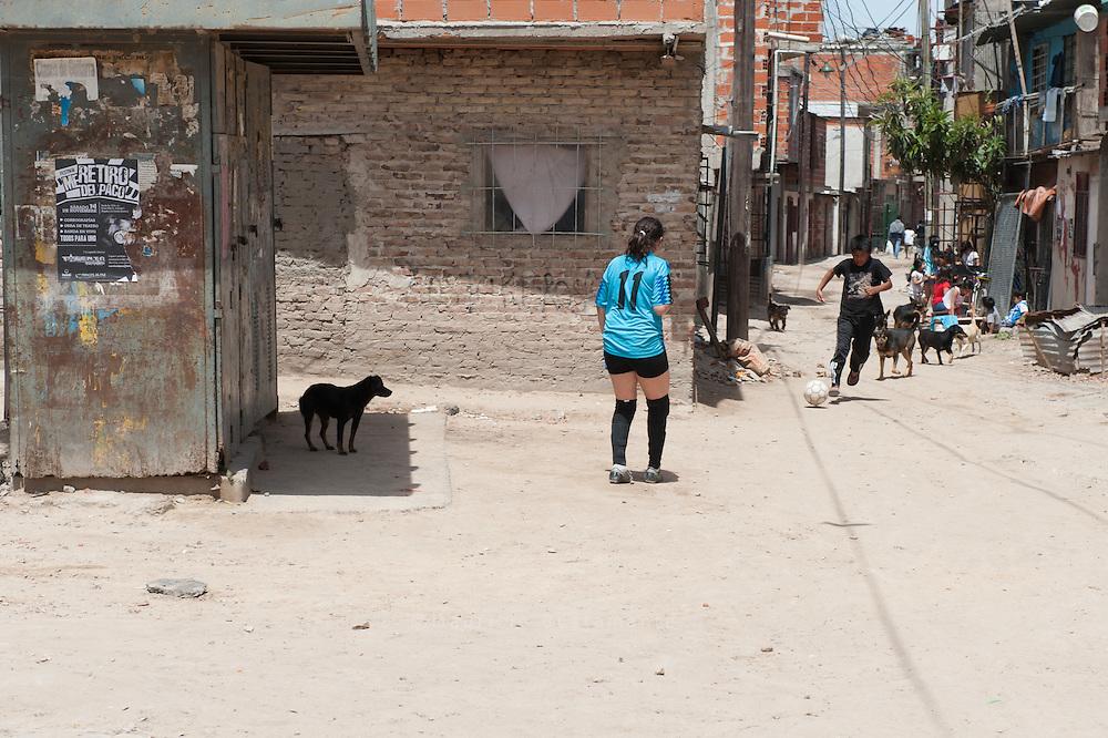 Proyecto de Fútbol Femenino en Villa 31 Goles y Metas