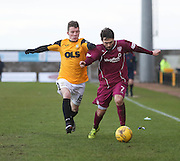Arbroath&rsquo;s Jamie Reid and East Fife&rsquo;s Ali Coote - East Fife v Arbroath, SPFL League Two at New Bayview<br /> <br />  - &copy; David Young - www.davidyoungphoto.co.uk - email: davidyoungphoto@gmail.com