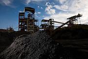 Ouro Branco_MG, Brasil...Usina Miguel Burnier, unidade de processamento de minerio, Ouro Branco, Minas Gerais...The Miguel Burnier industry plant, this plant is processing the mineral, Ouro Branco, Minas Gerais. ..Foto: LEO DRUMOND /  NITRO