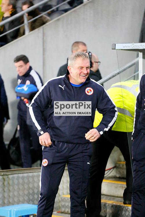 Caretaker manger of Reading, Martin Kuhl during  Hull City v Reading, SkyBet Championship, Wednesday 16th December 2015, KC Stadium, Hull