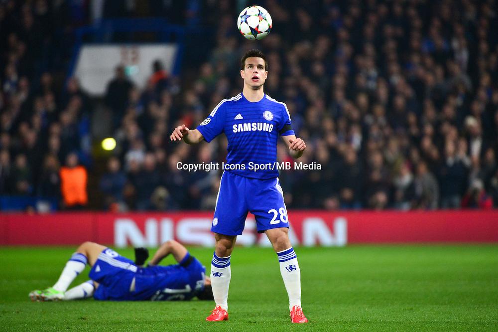 Cesar AZPILICUETA - 11.03.2015 - Chelsea / Paris Saint Germain - 1/8Finale retour Champions League<br /> Photo : Dave Winter / Icon Sport