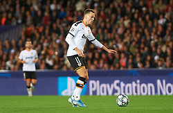 November 5, 2019, Valencia, Valencia, Spain: Denis Cheryshev of Valencia during the during the UEFA Champions League group H match between Valencia CF and Losc Lille at Estadio de Mestalla on November 5, 2019 in Valencia, Spain (Credit Image: © AFP7 via ZUMA Wire)