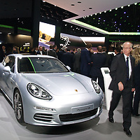 Porsche Panamera 4S at the IAA 2013, Frankfurt, Germany