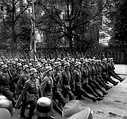 German soldiers in Warsaw 1939 after the invasion of poland in World war II.