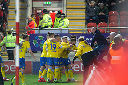 January 26, 2019 - Rotherham, England, United Kingdom - Mateusz Klich of Leeds United celebrates after scoring his team's second goal during the Sky Bet Championship match between Rotherham United and Leeds United at the New York Stadium, Rotherham on Saturday 26th January 2019. (Credit Image: © Mark Fletcher/NurPhoto via ZUMA Press)