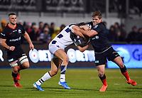 Rugby Union - 2019 / 2020 Gallagher Premiership - Saracens vs. Bristol Bears<br /> <br /> Saracens' Jack Singleton in action, at Allianz Park.<br /> <br /> COLORSPORT/ASHLEY WESTERN