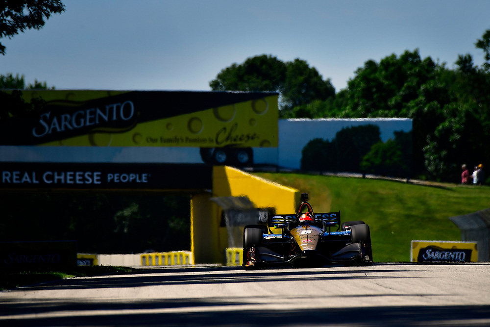 James Hinchcliffe, Schmidt Peterson Motorsports Honda<br /> Saturday 23 June 2018<br /> KOHLER Grand Prix at Road America<br /> Verizon IndyCar Series<br /> Road America WI USA<br /> World Copyright: Scott R LePage