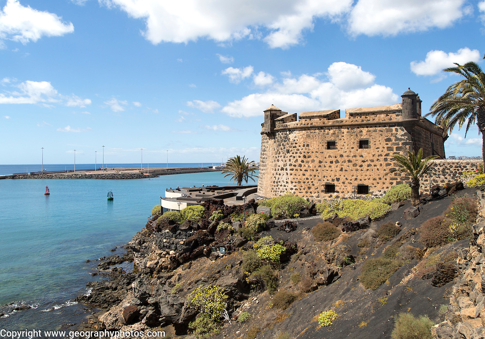 International museum of contemporary art,, Castillo de San José, Arrecife, Lanzarote, Canary Islands, Spain