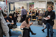 The London book Fair, Olympia, London, 12 March 2019