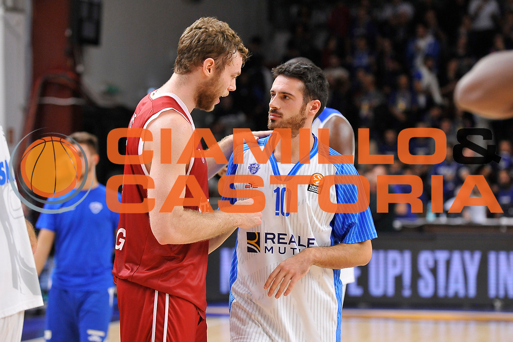 DESCRIZIONE : Eurolega Euroleague 2015/16 Group D Dinamo Banco di Sardegna Sassari - Brose Basket Bamberg<br /> GIOCATORE : Nicolo' Melli Lorenzo D'Ercole<br /> CATEGORIA : Postgame<br /> SQUADRA : Brose Basket Bamberg Dinamo Banco di Sardegna Sassari<br /> EVENTO : Eurolega Euroleague 2015/2016<br /> GARA : Dinamo Banco di Sardegna Sassari - Brose Basket Bamberg<br /> DATA : 13/11/2015<br /> SPORT : Pallacanestro <br /> AUTORE : Agenzia Ciamillo-Castoria/C.Atzori
