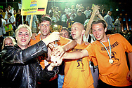 German team at Homeless World Cup, Graz. Austria. 2003