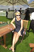 Jane Harvey.     Cartier International Polo 2000. Smiths Lawn.  31/7/00<br />© Copyright Photograph by Dafydd Jones 66 Stockwell Park Rd. London SW9 0DA Tel 020 7733 0108 www.dafjones.com