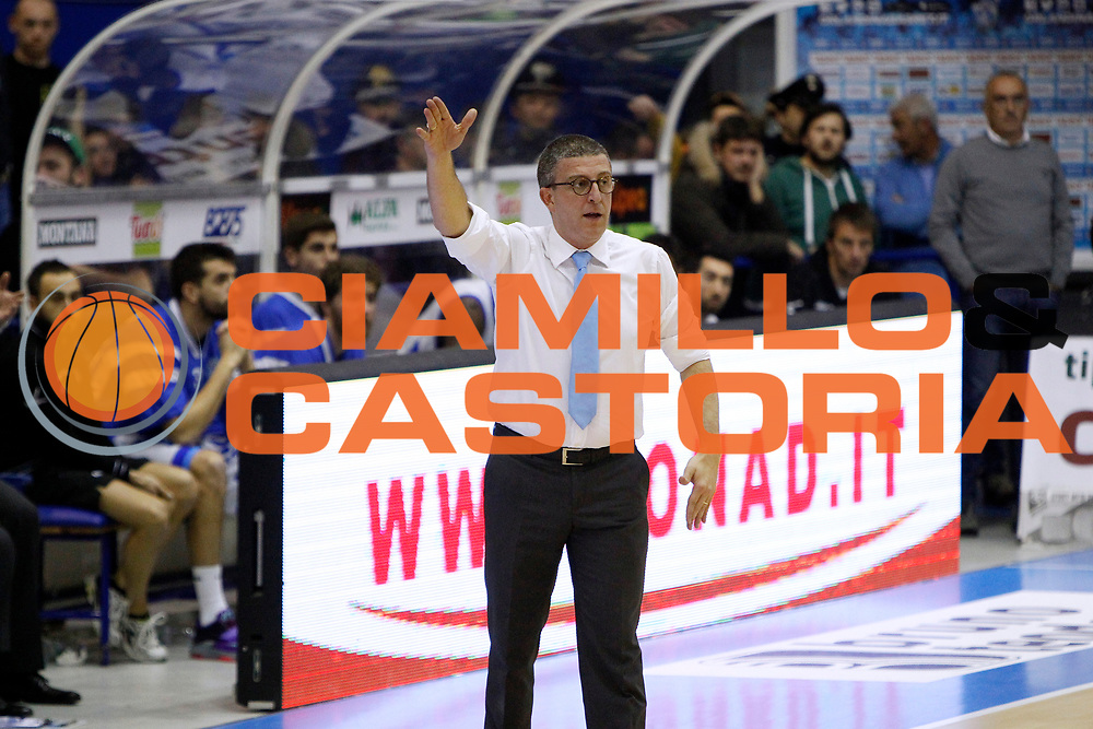 DESCRIZIONE : Capo dOrlando Lega A 2014-15 Orlandina Basket Granarolo Virtus Bologna<br /> GIOCATORE : GIULIO GRICCIOLI COACH<br /> CATEGORIA : HEAD COACH DELUSIONE<br /> SQUADRA : Orlandina Basket<br /> EVENTO : Campionato Lega A 2014-2015 <br /> GARA : Orlandina Basket Granarolo Virtus Bologna<br /> DATA : 01/02/2015<br /> SPORT : Pallacanestro <br /> AUTORE : Agenzia Ciamillo-Castoria/G.Pappalardo<br /> Galleria : Lega Basket A 2014-2015<br /> Fotonotizia : Capo dOrlando Lega A 2014-15 Orlandina Basket Granarolo Virtus Bologna