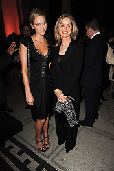 Left to right, CHARLENE WITTSTOCK and BARBARA BACH at the opening of the Victoria & Albert Museum's latest exhibition 'Grace Kelly: Style Icon' opened by His Serene Highness Prince Albert of Monaco at the V&A on 15th April 2010.