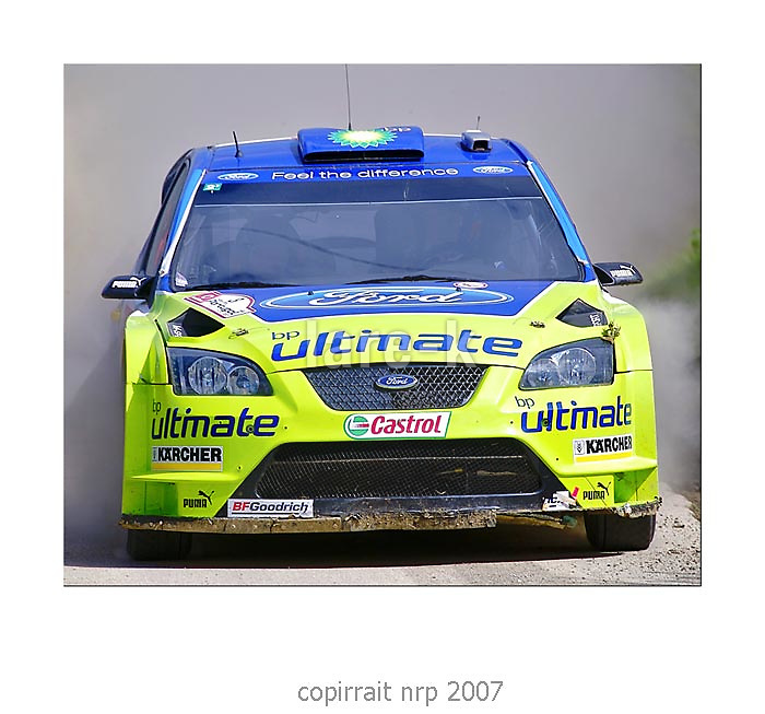 WRC PORTUGAL 2007 MARCUS GRONHOLM<br /> FORD FOCUS RS WRC 2006<br /> BP FORD WRT