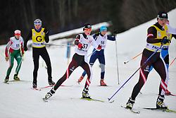 BUDALEEVA Luliia Guide:  MULTESEVA Tatiana RUS at the 2014 IPC Nordic Skiing World Cup Finals - Long Distance