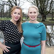 NLD/Amsterdam/20171218 - Musical Awards nominatielunch 2018, Sylvia Poorta en <br /> Annick Boer