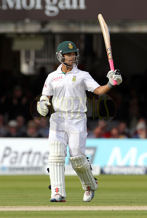 © Andrew Fosker / Seconds Left Images 2012 - South Africa's Jean-Paul Duminy celebrates his 50, fifty, half century  England v South Africa - 3rd Investec Test Match - Day 1 - Lord's Cricket Ground - 16/08/2012 - London - UK - All rights reserved