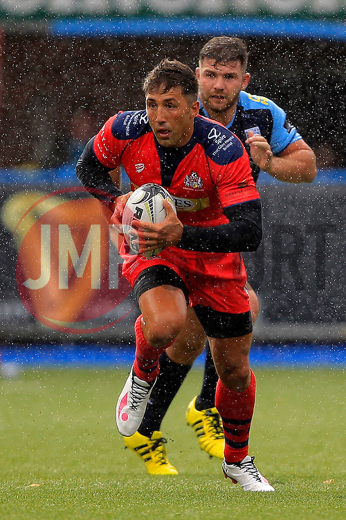Gavin Henson of Bristol Rugby - Mandatory by-line: Ian Smith/JMP - 20/08/2016 - RUGBY - BT Sport Cardiff Arms Park - Cardiff, Wales - Cardiff Blues v Bristol Rugby - Pre-season friendly