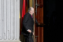 Former King Juan Carlos I of Spain attends to 40 Anniversary of Spanish Constitution at Congreso de los Diputados in Madrid, Spain. December 06, 2018. Photo by ALTERPHOTOS/A. Perez Meca/ABACAPRESS.COM
