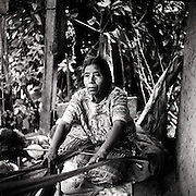 Doña Teresa is a weaver in San Juan Cotzal, Guatemala -- a small town in the country's western highlands.  She is part of a collective of female weavers who were all widowed by civil war from 1960-1996.