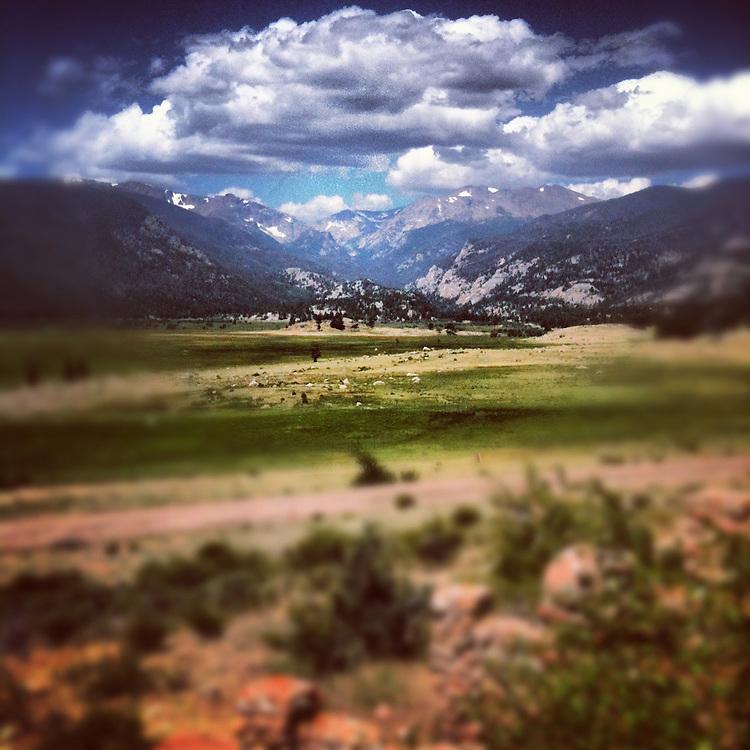 Morraine Park, Rocky Mountain National Park, Colorado
