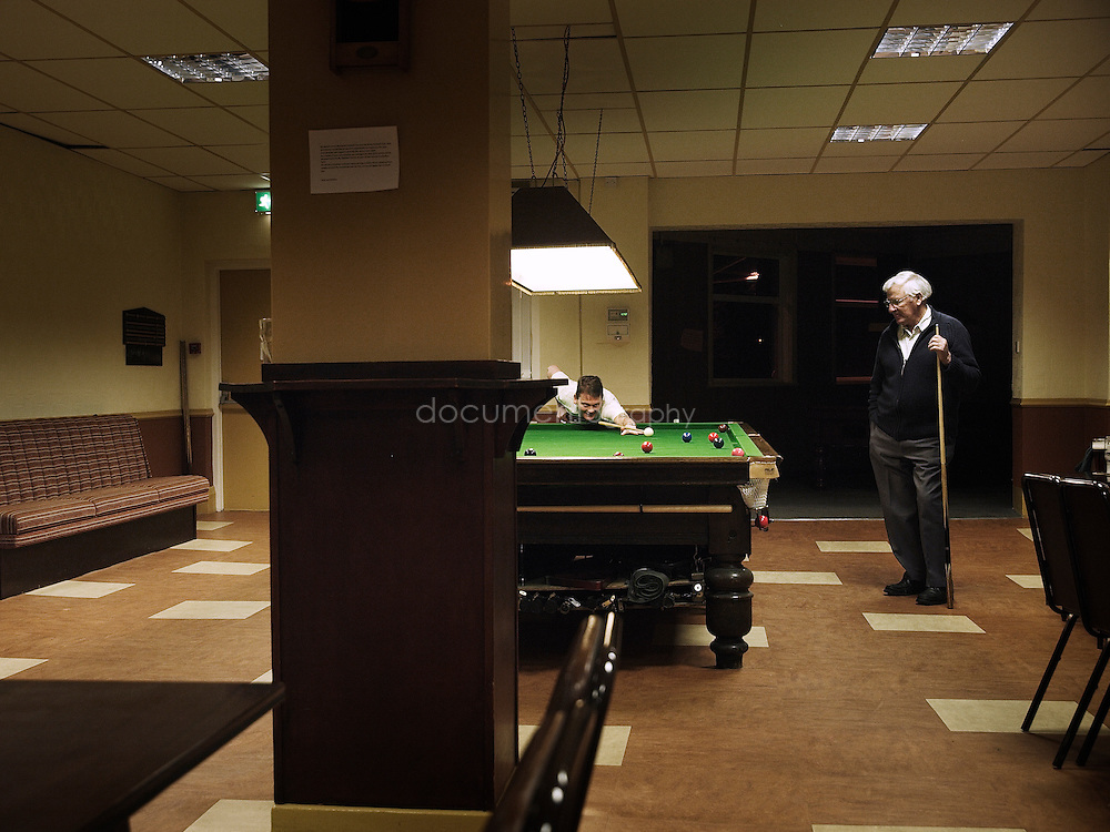 Denaby and Cadeby Miners' Welfare Club near Conisbrough was once a thriving social and sports club with football and cricket pitches, a swimming bath and library as well as the social and entertainment rooms indoors.