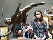 Kate Middleton & Prince William Visit Musee d'Orsay, Paris