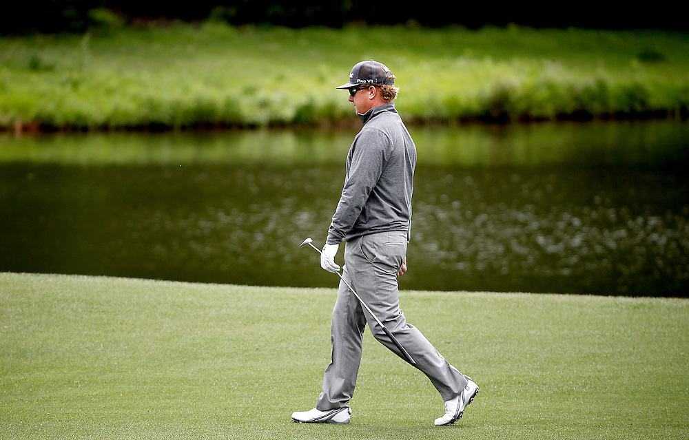 Charley Hoffman walks the 8th fairway during the second round of the Shell Houston Open golf tournament at the Golf Club of Houston on , Friday, April 1, 2016, in Humble, Texas.  (Photo: Thomas B. Shea/For the Chronicle)
