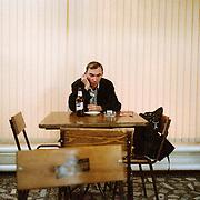 Dans un café de Chisinau - Moldavie 2009