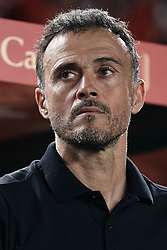 September 11, 2018 - Elche, Alicante, Spain - Luis Enrique head coach of Spain looks on prior to the UEFA Nations League A group four match between Spain and Croatia at Martinez Valero  on September 11, 2018 in Elche, Spain  (Credit Image: © David Aliaga/NurPhoto/ZUMA Press)