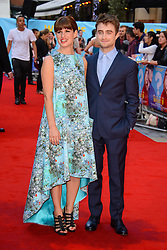 Image ©Licensed to i-Images Picture Agency. 12/08/2014. London, United Kingdom. <br /> Gemima Rooper and Daniel Radcliffe attends the What If - UK film premiere. Leicester Square. Picture by Chris Joseph / i-Images