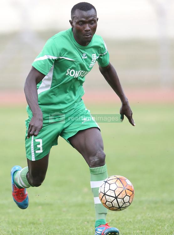Samuel Olare of Sony Sugar in action against Bandari FC during their GOTv Shield quarter finals at Nyayo Stadium in Nairobi on August 19, 2017. Sony won 3-1. Photo/Fredrick Omondi/www.pic-centre.com(KENYA)