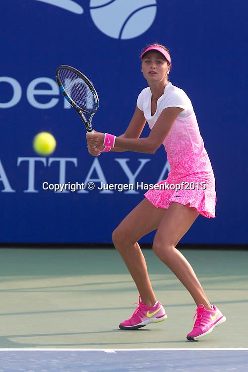 Elizaveta Kulichkova (RUS)<br /> <br /> Tennis - PTT Thailand Open 2015 - WTA -  Dusit Thani Hotel - Pattaya - Chonburi - Thailand  - 10 February 2015.