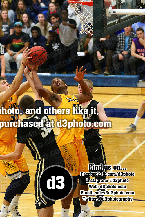 Carleton College defeated St. Olaf College 75-61 in MIAC action on the campus of Carleton College in Northfield, Minnesota on January 18, 2017.