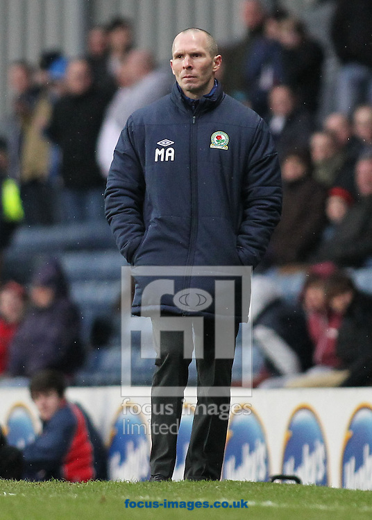 Picture by Michael Sedgwick/Focus Images Ltd +44 7900 363072.23/02/2013.Michael Appleton, manager of Blackburn Rovers on the touchline during the npower Championship match against Leeds United at Ewood Park, Blackburn.