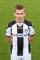 Tim Breukers of Heracles Almelo during the team photocall of Heracles on July 20, 2015 at the Polman stadium in Almelo, The Netherlands.