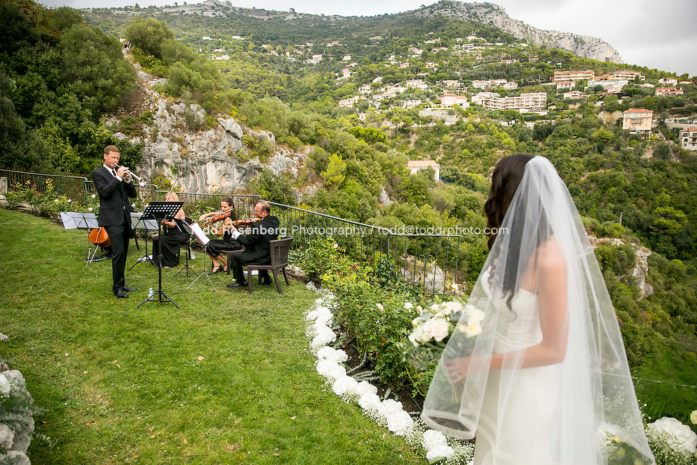 9/16/15 7:36:26 AM -- Eze, Cote Azure, France<br /> <br /> The Wedding of Ruby Carr and Ken Fitzgerald in Eze France at the Chateau de la Chevre d'Or. <br /> . &copy; Todd Rosenberg Photography 2015