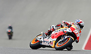 Spain's Marc Marquez (93) during qualifying in the 2016 Grand Prix of the Americas MotoGP race at circuit of the Americas, in Austin, Texas on April 9, 2016.