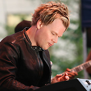 Brian Culbertson performs in front of a large crowd on the last day of the 26th annual duPont Clifford Brown Jazz Festival Saturday, June 21, 2014, at Rodney Square Park in Wilmington, DEL.    <br /> <br /> &ldquo;The Clifford Brown Jazz Festival is a staple of Wilmington&rsquo;s performing arts culture,&rdquo; said Mayor Dennis P. Williams. &ldquo;The City is excited to celebrate the 26th anniversary and I hope the community gets involved and enjoys all of the many activities the festival has to offer.&rdquo;<br /> <br /> The Clifford Brown Jazz festival is the largest FREE out door music event on the east coast of the United States.