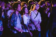 Photos of general atmosphere during Sónar Reykjavík music festival at Harpa concert hall in Reykjavík, Iceland. February 13, 2014. Copyright © 2014 Matthew Eisman. All Rights Reserved