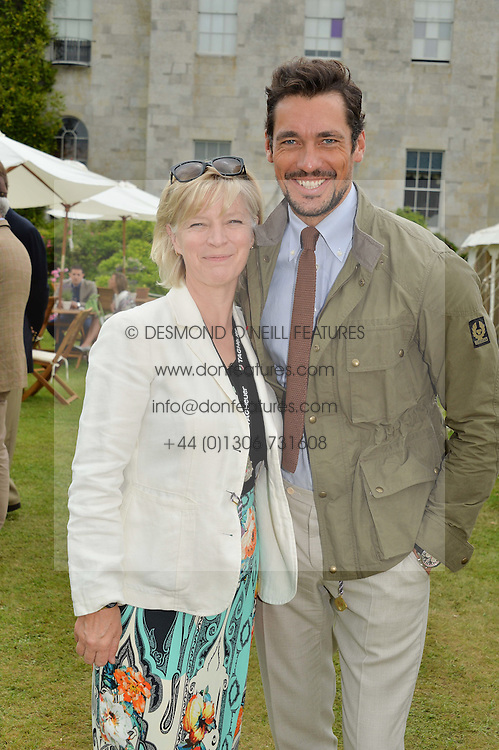 The COUNTESS OF MARCH and DAVID GANDY at the Cartier hosted Style et Lux at The Goodwood Festival of Speed at Goodwood House, West Sussex on 26th June 2016.