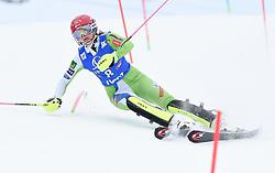 28.12.2017, Hochstein, Lienz, AUT, FIS Weltcup Ski Alpin, Lienz, Slalom, Damen, 1. Lauf, im Bild Ana Bucik (SLO) // Ana Bucik of Slovenia DNF her 1st run of ladie's Slalom of FIS ski alpine world cup at the Hochstein in Lienz, Austria on 2017/12/28. EXPA Pictures © 2017, PhotoCredit: EXPA/ Erich Spiess