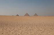 Egypt. Cairo - The pyramides of Gizah Cairo  /  les pyramides de Gizeh Le caire - Egypte